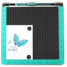 "Brand New Hampton Art STAMP PERFECT DELUXE SIZE 10""x10"" Stamp Positioning Tool"