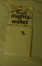 Dynomighty Blank White MIGHTY WALLET made of tyvekDY