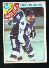 1977 - 1978 Topps Hockey Set LANNY McDONALD Card
