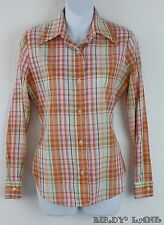 Vtg Levis Button Down Shirt Big E Western Rockabilly Cowgirl Retro Womens