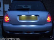 MINI COOPER NUMBER PLATE LED 272 36mm 3 LED CANBUS ERROR FREE