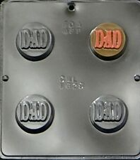 """DAD"" Chocolate Oreo Cookie Mold  1629 NEW"