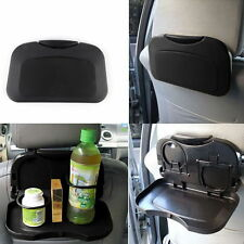 Car Food Tray/Folding Dining Table/Car Drink Holder Pallet/Back Seat Cup Holder