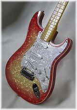 Dillion 2016 pearl double cut in cherry sunburst and maple fingerboard look !!