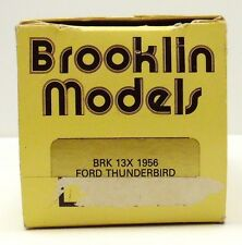 BROOKLIN 1956 FORD Thunderbird ( EMPTY BOX ONLY )