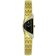 Feminine Watch Seiko Thin Rare Design Half Moon Gentle Watch High Class