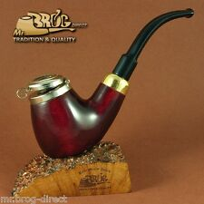 "Mr.Brog original smoking pipe nr 21 red smooth "" OLD ARMY "" HAND MADE in POLAND"