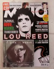 MOJO Magazine & CD November 2016 LOU REED Bowie WARHOL Transformer BYRDS Cure