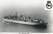 POSTCARD   SHIPS / PHOTOS  HMS  Hartland Point