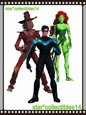 DC Comics Batman HUSH Scarecrow, Nightwing & Poison Ivy Action Figure 3 Pack NEW