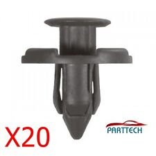 20x Mitsubishi Plastic Rivet Trim Clips for Bumpers Splashguards Wheelarch Liner