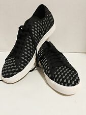 Nike Tennis Classic AC Wove Shoes Size 14 black & white