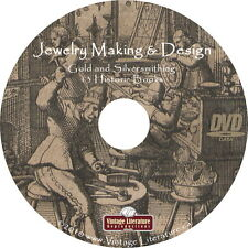 Art of Jewelry Making and Silversmithing { 13 Vintage Books } on DVD