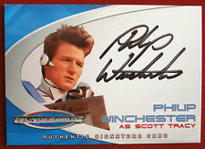Thunderbirds le film AC5 Philip Winchester, Scott Tracy, Auto Autographe Carte