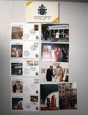 Francobolli # VISITA PASTORALE DI S.S. GIOVANNI PAOLO II 1991 FABRIANO# FDC Roma