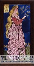 William Morris From The Great Exhibition April 2 Tile Panel