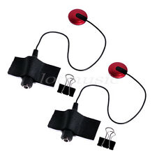 2pcs Piezo Transduce Contact Mic Microphone Pickup For Guitar Violin Banjo