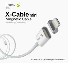 WSKEN X-CABLE 2.4A Iphone Mini Lightning Magnetic USB Fast Charging & Data Cable
