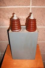High Voltage Aerovox 20,000 Volts DC 20k vdc Oil Capacitor. 29 lbs. Tesla Coil.