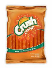 Orange Crush Candy Twists 5oz Retro Fat Free LICORICE With REAL SODA Kennys