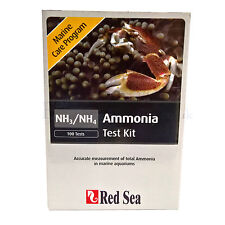 RED SEA AMMONIA TEST KIT FOR MARINE AQUARIUMS (marine care program)