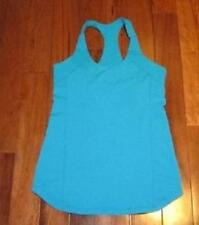 LULULEMON INNER STRENGTH TANK IN lagoon blue size 8