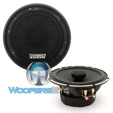 "SUNDOWN AUDIO SA-6.5 CX 6.5"" 50W RMS 2-WAY SILK TWEETERS COAXIAL SPEAKERS NEW"
