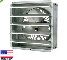 "EXHAUST FAN Commercial - Direct Drive - 16"" - 1/4 Hp - 115V - 1 Spd - 2,600 CFM"