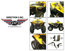 CAN-AM Renegade 500/570/800/850/1000 Overfenders by DIRECTION 2 - OFSCA3000