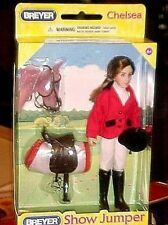 Breyer Horses Classic Chelsea Show Riding Doll English Saddle Bridle & Pad NEW!