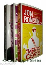 Jon Ronson 3 Books The Men Who Stare At Goats Them & Out of the Ordinary New