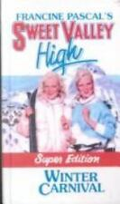 WINTER CARNIVAL (Sweet Valley High Super Editions), Francine Pascal, Good Book