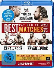 WWE Best of Pay-Per-View Matches 2012 2 Blu Ray Set orig WWF deutsch