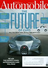 2015 Automobile Magazine: The Future of Cars/Bugatti Chiron/Google Driverless