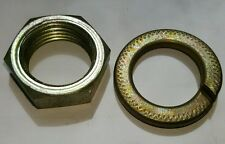 Lucas Marelli,A127,Perkins,Prestolite,alternator pulley nut & washer 17MM Shaft