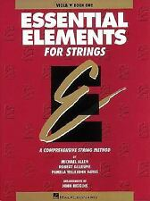 Essential Elements for Strings : Viola Bk. 1 by Michael Allen and Robert...