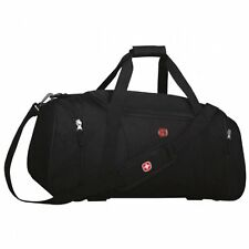 Swiss Gear Wenger Sport Gym Travel Camp Carry on bag Duffle Black  SALE SWA0764P
