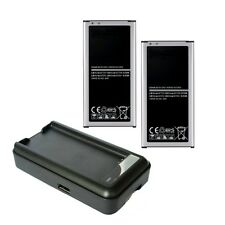 2X Extra High Capacity Replacement Battery & Charger for Samsung Galaxy S5 i9600