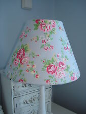 **FRENCH VINTAGE STYLE CHIC**CATH KIDSTON LAMPSHADE SPRAY FLOWERS GREY LAST ONE