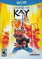Legend of Kay Anniversary USED SEALED (Nintendo Wii U) **FREE SHIPPING!!