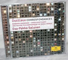 CD Dutilleux CORRESPONDANCES - Esa-Pekka Salonen / Orch. Phil. De Radio France