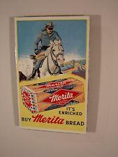 Merita Bread Lone Ranger Ande Rooney Porcelain Magnet