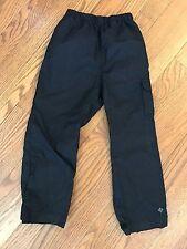 Columbia XXS 3/4T Childrens Windbreaker Rain Pants Black