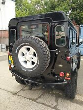 Land Rover Defender Terrafirma Spare Wheel Carrier Swing Away, New Design