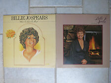 BILLIE JO SPEARS   2 LPs      If You want Me  &  What I've Got In My Mind    UAS