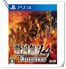 PS4 Samurai Warriors 4 Empires ENG JAPANESE SONY Action Games Koei Tecmo