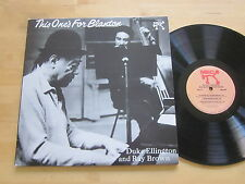 Duke Ellington Ray Brown This One's For Blanton 2-LP Analogue Production 45 RPM
