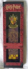 New Harry Potter Gryffindor House Crest Metal Bookmark Noble Collection