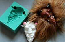 Silicone Mould BEAST FACE Sugarcraft Cake Decorating Fondant / fimo mold