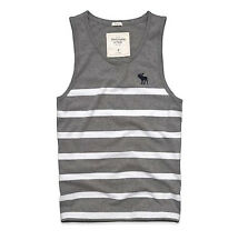 NEW ABERCROMBIE & FITCH A&F MENS GUYS MUSCLE FIT T SHIRT TANK TOP CREW TEE XXL